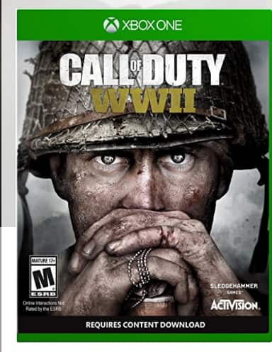CALL OF DUTY WW2 ..back again $43.00 (amazon)