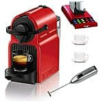 $90.30 = Nespresso Inissia Espresso Maker + 2 Espresso cups + Coffee drawer + Knox Handheld Milk Frother + 5% Rakuten points + 3% e-bates cash back