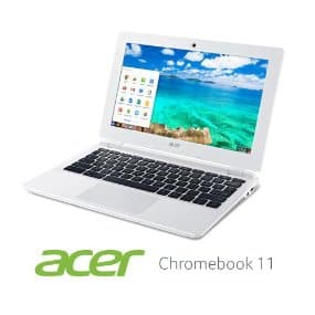 "Target (in-store weekly ad): Acer CB3 Chromebook 11.6"" $129"