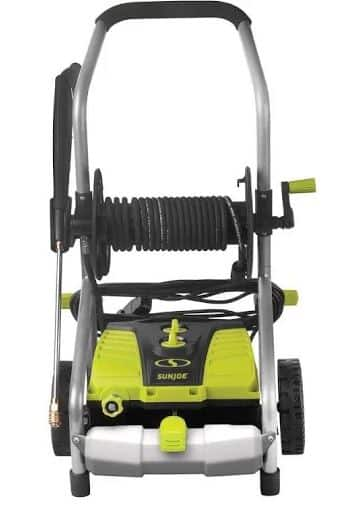 Sun Joe SPX4001 14.5 Amp 2030 PSI Electric Pressure Washer w/ Pressure Select Technology & Hose Reel -  $132.09