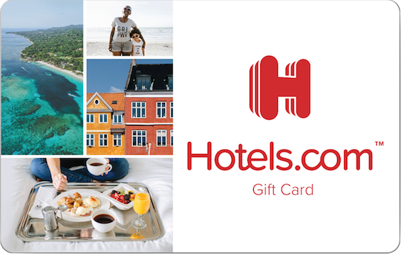 Get 15% off your $50 Hotels.com Gift Card Purchase!