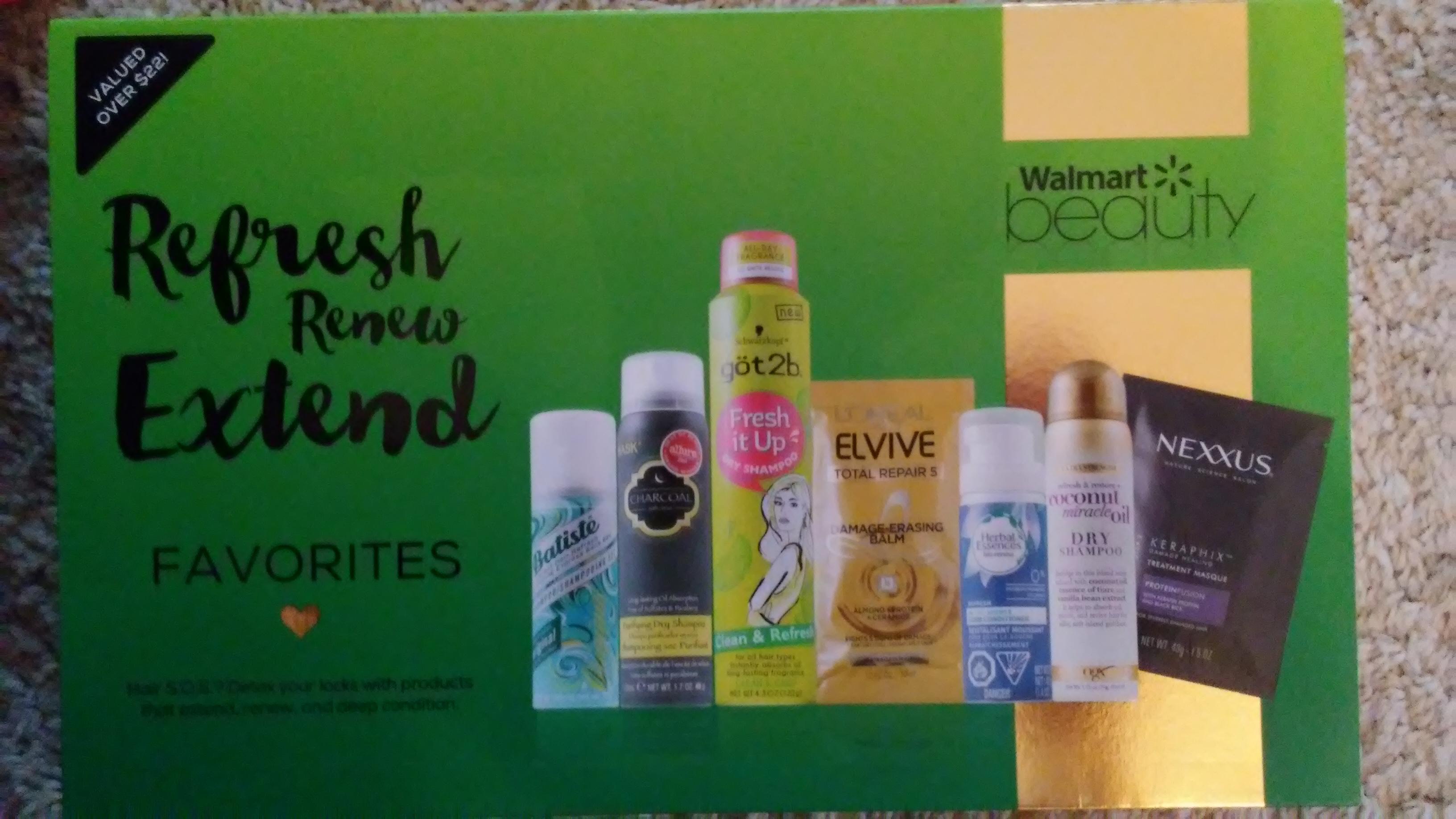 Walmart Favorites beauty boxes $5