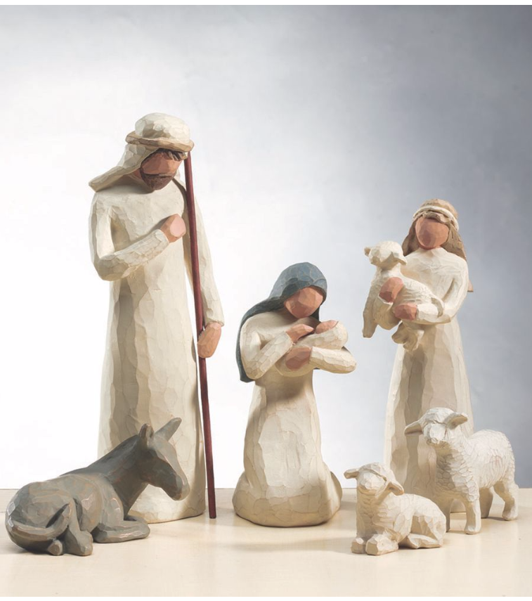 Willow Tree Figures: Creche $58, 6pc Nativity Set $38, 3 Wise Men $32 & More Free Ship (Lower than CCC Year's Record Low by 20%)