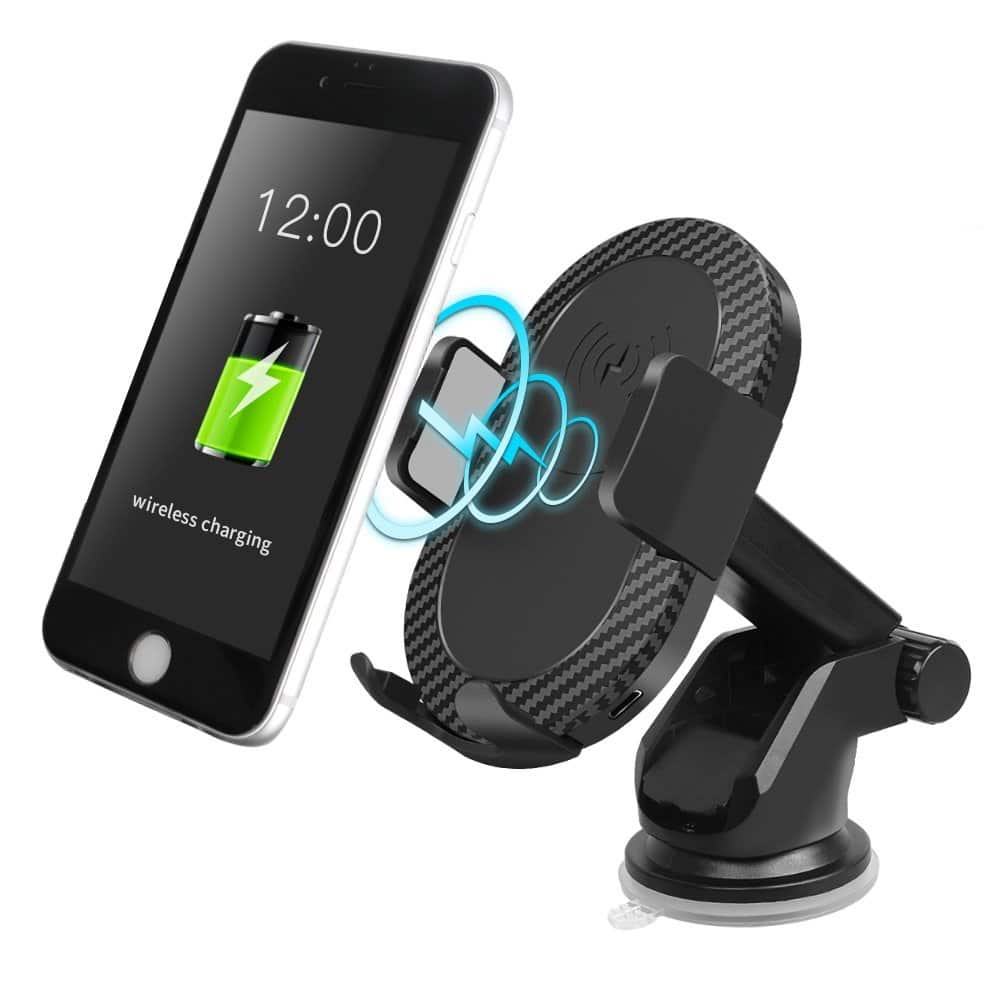 Wireless car charger mount $18.99