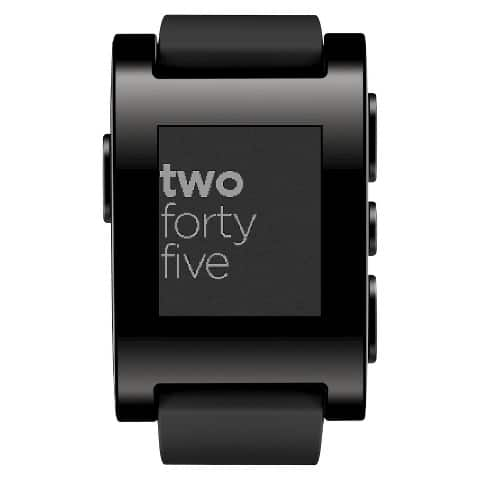 Pebble Smart Watch for iPhone and Android @ Target on clearance YMMV $29.98