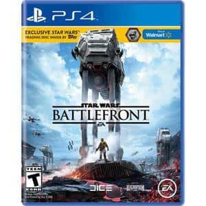 Battlefront Game + $20 PlayStation store card @ walmart $59.96 (more choices of games)