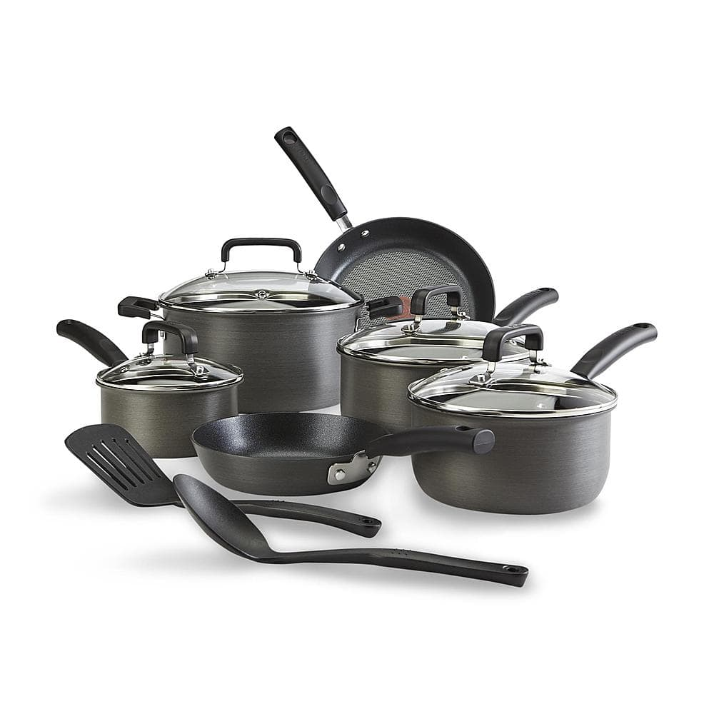 T-fal 12-Piece Signature Cookware Set + $75 SYW Points - $99 or 12-Piece Stainless Steel Non-Stick Set + $53 SYW Points @ Sears