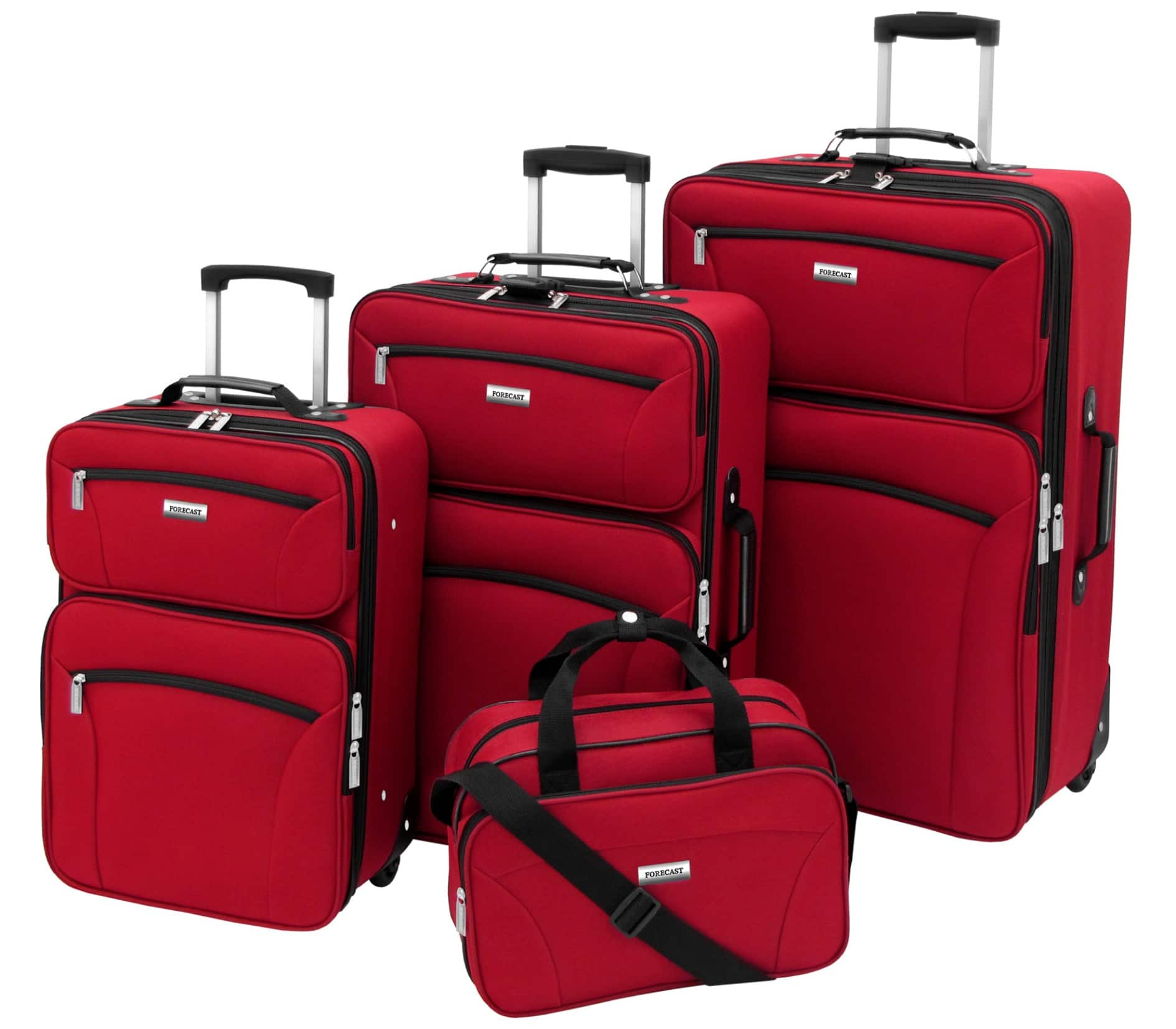 Forecast Barbados 4 Piece Set Luggage - Black $179 or lower + $131 or more SYW points (multiple colors) @ Sears  (Points Roll)