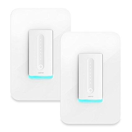 WeMo 2 Pack Switch / Dimmer Wireless - White at Dell $99.99 + FS