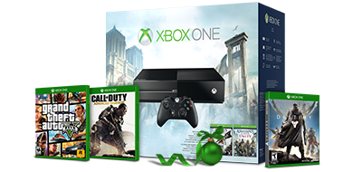 (12 Days of Deals 12/10/14) Xbox One Unity Bundle w/ up to 2 free select games - $349 - Microsoft Store