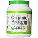 Orgain Organic Protein Plant-Based Powder, Vanilla Bean, 2.03 Pound  $23.30 or less + free shipping