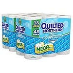 Quilted Northern Ultra Soft and Strong Bath Tissue, 36 Mega Rolls $16.24 or less + free shipping