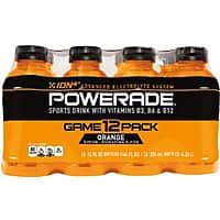 Amazon Deal: POWERADE Orange, 12 ct, 12 FL OZ Bottle $3.83 or lower (subscribe & save)