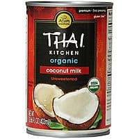 Amazon Deal: Thai Kitchen Organic Coconut Milk, Premium, First Pressing, 13.66 Ounce (Pack of 6) $3.57 or less + free shipping *Act Fast