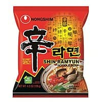 Amazon Deal: DEAD (expired coupon) -Nongshim Shin Noodle Ramyun Gourmet Spicy, 4.2-oz. Packages, 20-Count $13.77 or less + free shipping