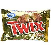 Amazon Deal: Twix Caramel Fun Size Candy, 22.34-Ounce Packages (Pack of 2) $6.64 or less + free shipping