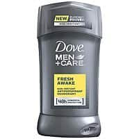 Amazon Deal: Dove Men+Care Antiperspirant & Deodorant, Fresh Awake 2.7 Ounces $2.07 or less + free shipping (more Dove Men on sale)