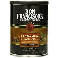 Amazon Deal: Don Francisco Cinnamon Hazelnut Coffee, 12 Ounce $3.44 or less + free shipping (additional flavors)