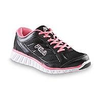 Sears Deal: Fila Women's Hyper Split 4 Black/Neon Pink Walking Shoe $14.99  + free store pick-up @ Sears
