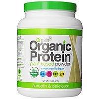 Amazon Deal: Orgain Organic Protein Plant-Based Powder, Vanilla Bean, 2.03 Pound  $23.30 or less + free shipping