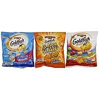 Amazon Deal: Pepperidge Farm Goldfish Crackers, 30 Count Variety Pack, 29.4 Ounce $9.42 or less + free shipping