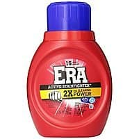 Amazon Deal: Era 2x Ultra Active Stainfighter Formula Regular Liquid Detergent 16 Loads 25 Fl Oz (Pack of 3) $3.85 or less + free shipping