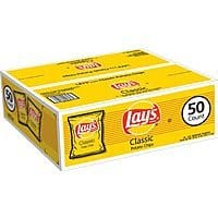 Prime Members: 50-Count of 1oz Lay's Classic Potato Chips