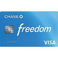 Chase Freedom Credit Card:  Wholesale Club Purchases