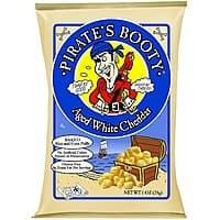 24-Pack of 1oz Pirate's Booty Aged White Cheddar