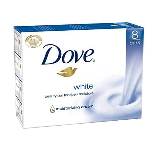 Dove Beauty Bar, White 4oz, 8 Bar, Twin Pack (16 bars total) $9.02     *add on item*