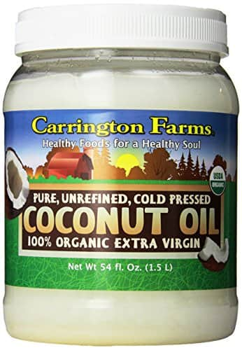 Carrington Farms Organic Extra Virgin Coconut Oil, 54 Ounce $15.19 or less + free shipping