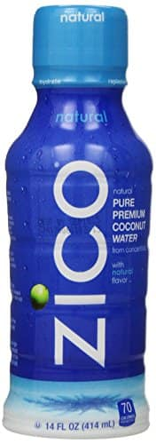 ZICO Pure Premium Coconut Water, Natural, 14 Ounce Bottles (Pack of 12) $10.99 or less + free shipping