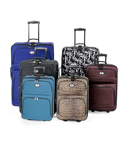 Leisure Bayside Luggage Collection (any size/color 18 to 27 inch) $19.97 + free shipping @ Bonton