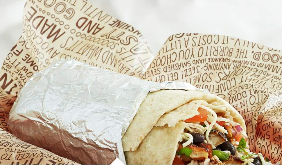 Coupon for a Free Chipotle Burrito (Smartphone required)