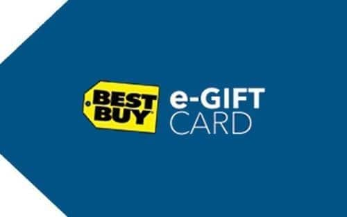 $100 Best Buy Gift Card + $10 eBay Bonus Card (Email Delivery)  $100