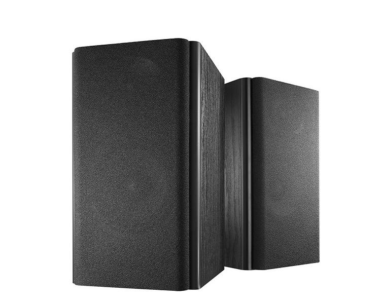 "Insignia 5-1/4"" 2-Way Bookshelf Speakers (Black)  $30 + Free Store Pickup"