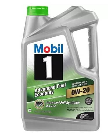 5 Quart Mobil 1 Full Synthetic Motor Oil (Various Models & Grades)  from $10.90 After $12 Rebate + Free Store Pickup