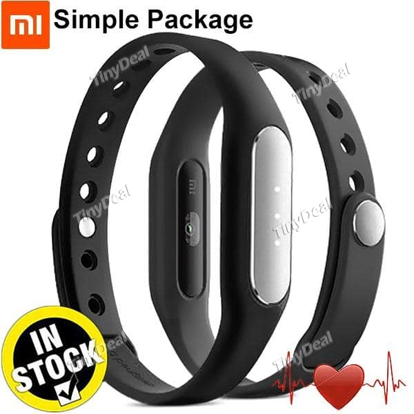 Xiaomi Miband 1S Heart Rate Bluetooth Smart Bracelet  $15.85 + Free Shipping