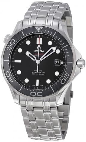 Omega Seamaster Black Dial Automatic Steel Men's Watch 212.30.41.20.01.003  - $2645