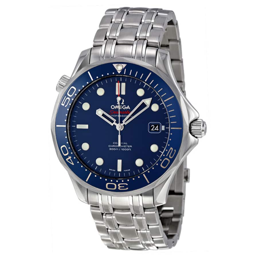 Omega Seamaster Blue Dial Automatic Stainless Steel Men's Watch  $2695 + Free Shipping