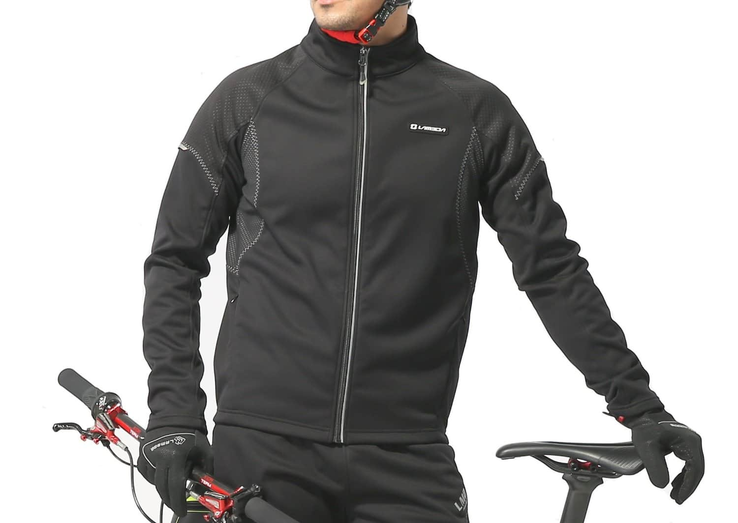 Windproof Full Zip Wind Jacket with 3-layers Composite Stretchy Fabric on sale for $24.99