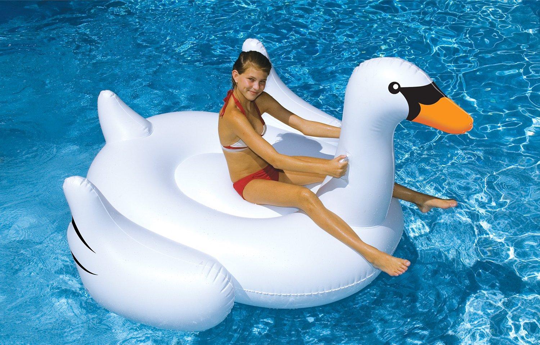 Giant Inflatable Swan $23.74 Shipped @Amazon