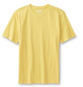 Kmart - Basic Editions Men's Slub Knit T-Shirts $4.98 (Buy 3, get $8 back in SYWR points -- POINTS ROLL)