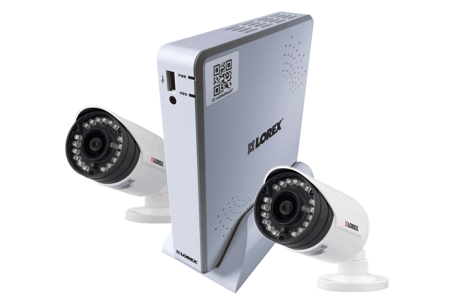 500GB Lorex Security Camera System w/ 2 Outdoor Cameras  $85 + Free Shipping