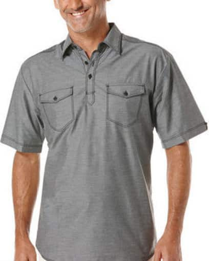 Cubavera Flash Sale: Additional 60% off Sale Prices: Men's Cotton Shirt  $8 & More + Free S/H