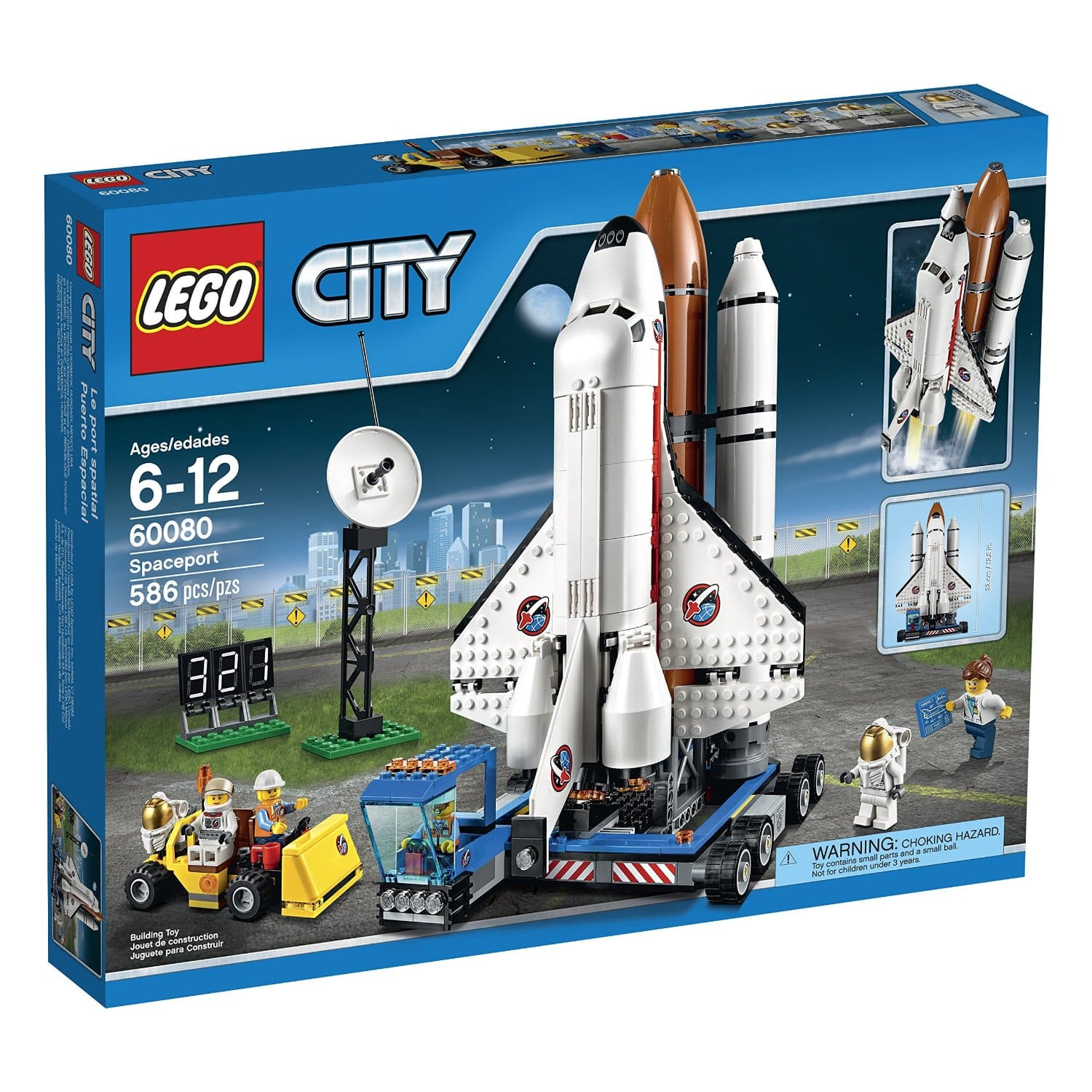 LEGO City Space Port 60080 - $83 + Free Shipping