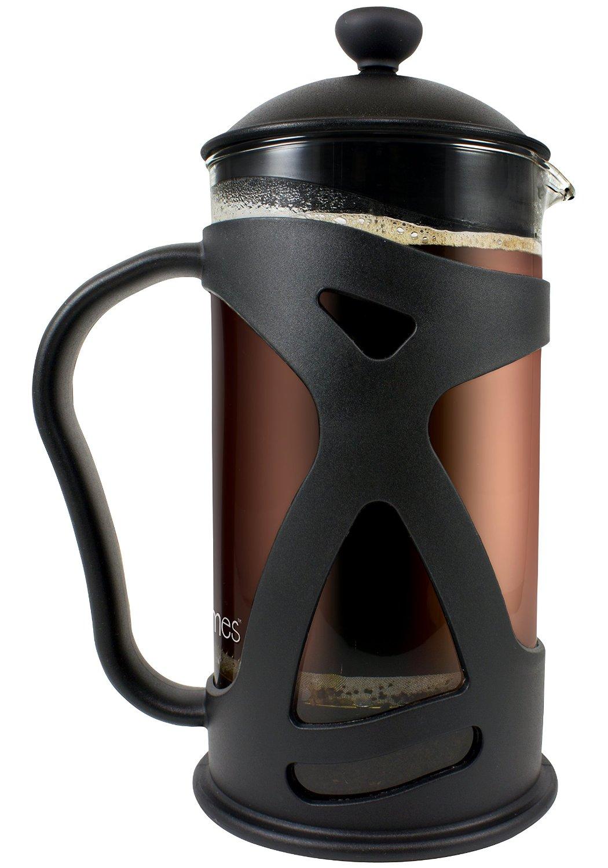 KONA French Press Coffee & Tea Maker, Black 34oz Teapot $14.97 @ Amazon.com w/ Free Prime Shipping