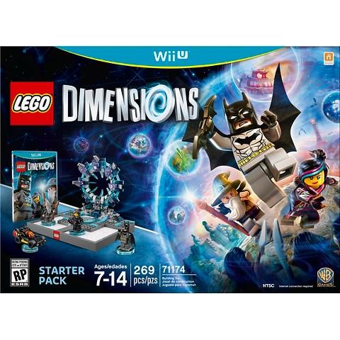 Lego Dimensions Starter Pack for Wii U for $32.49 at Target.com