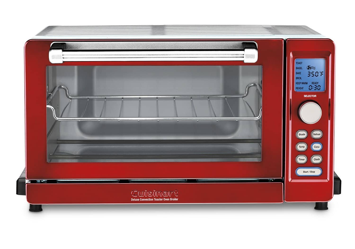 Cuisinart TOB-135 Deluxe Convection Toaster Oven Broiler (red) for $99 with free shipping