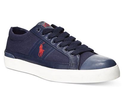 Men's Polo Ralph Lauren Churston Sneakers  $17.25 & More